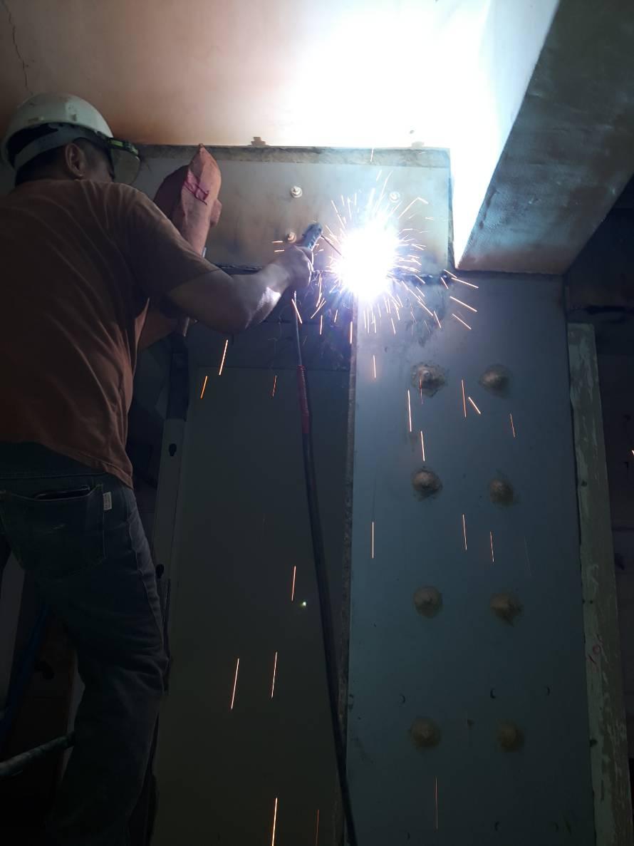 2鋼板安裝焊接