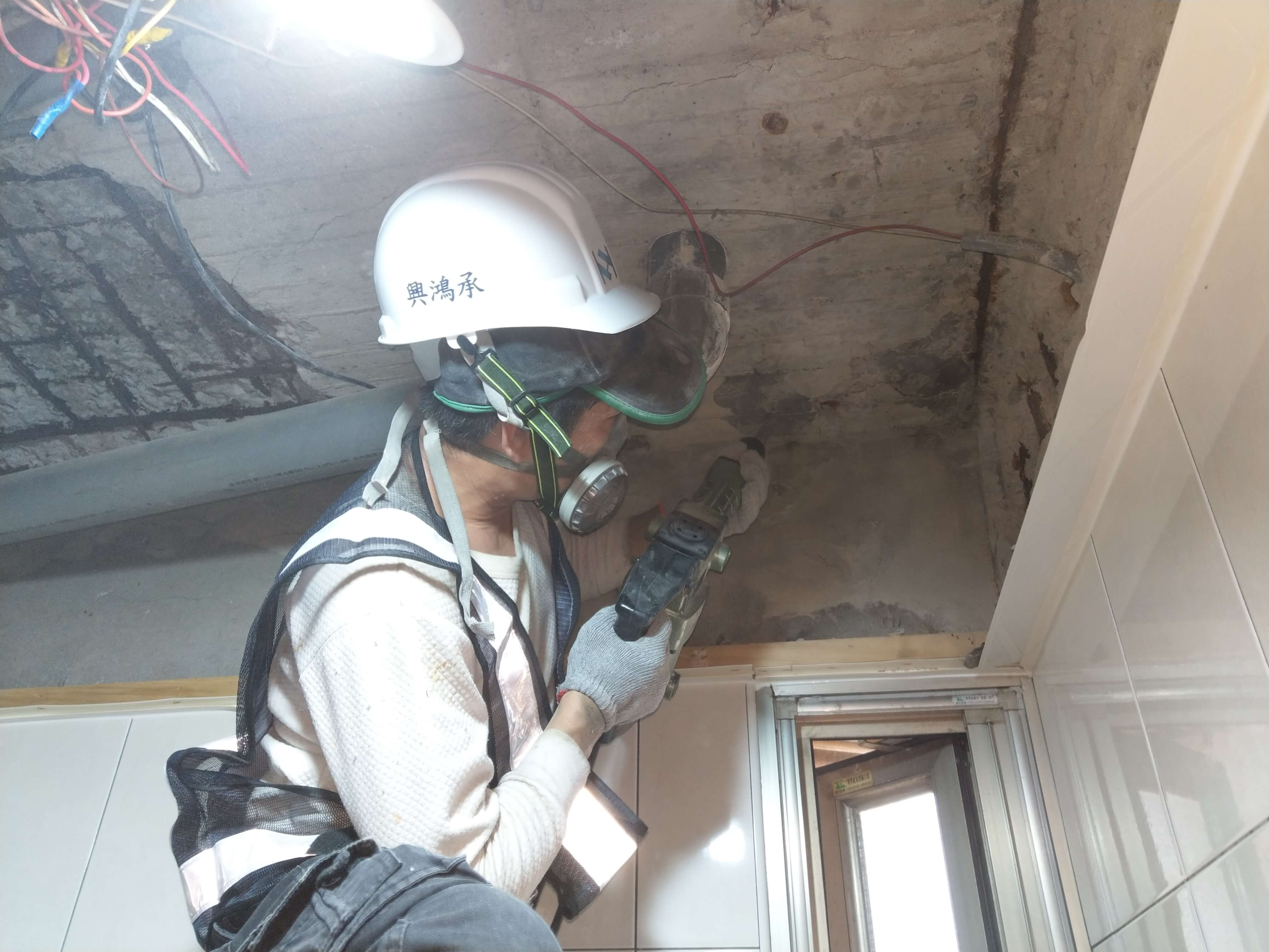 2施工實錄2混凝土表面打除