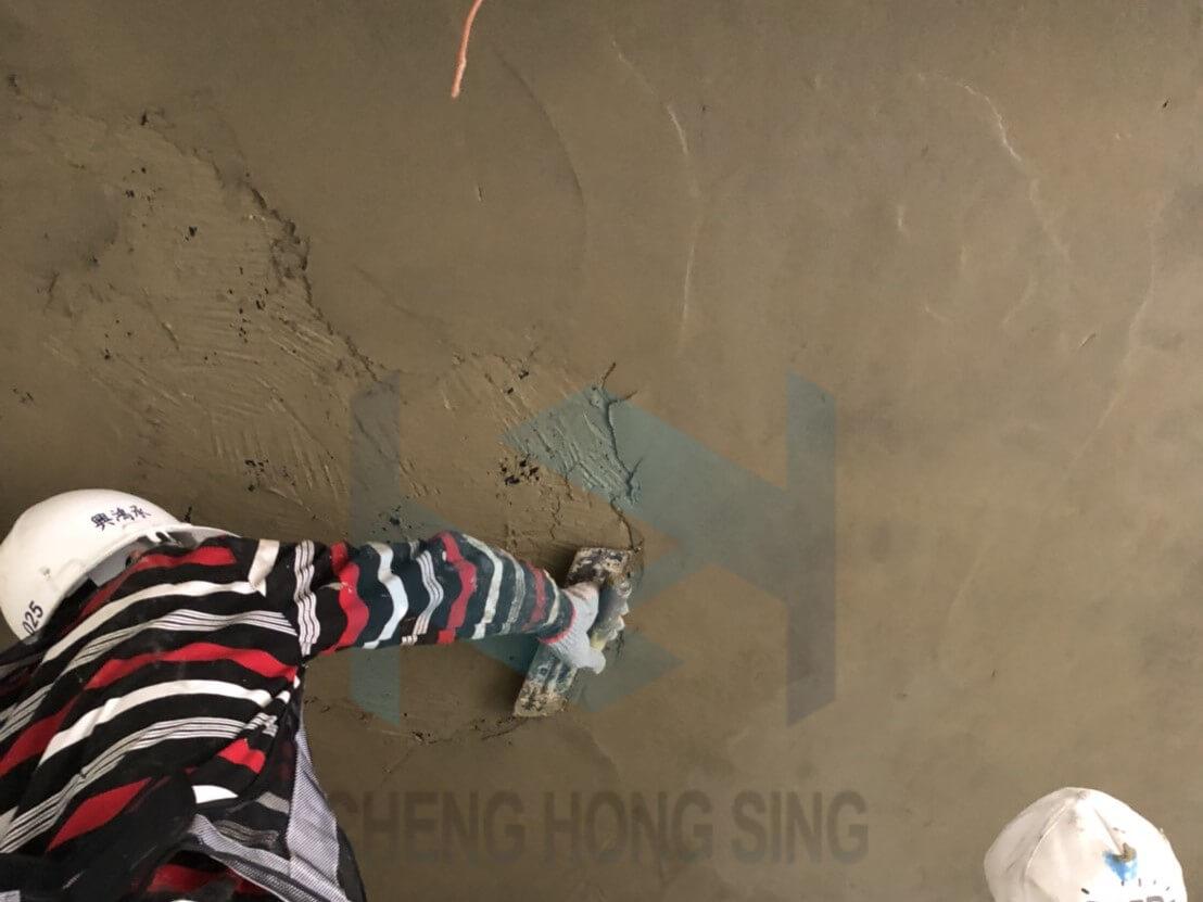 9. 水泥砂漿粉刷