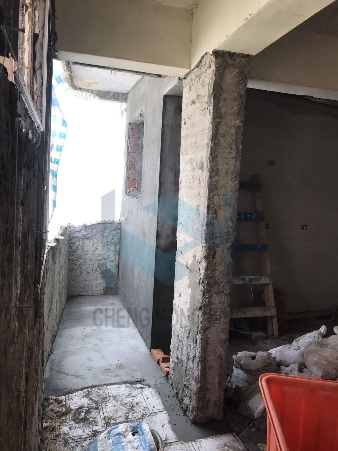 1. 無收縮水泥修復