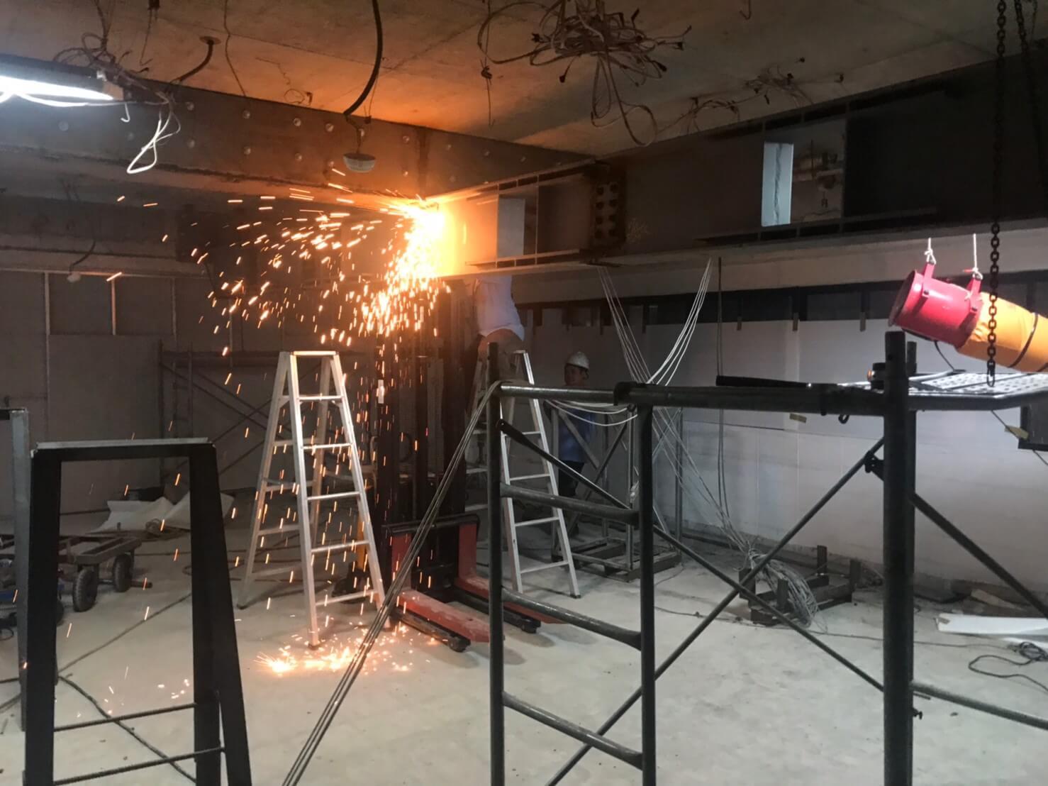 13.電焊鋼梁