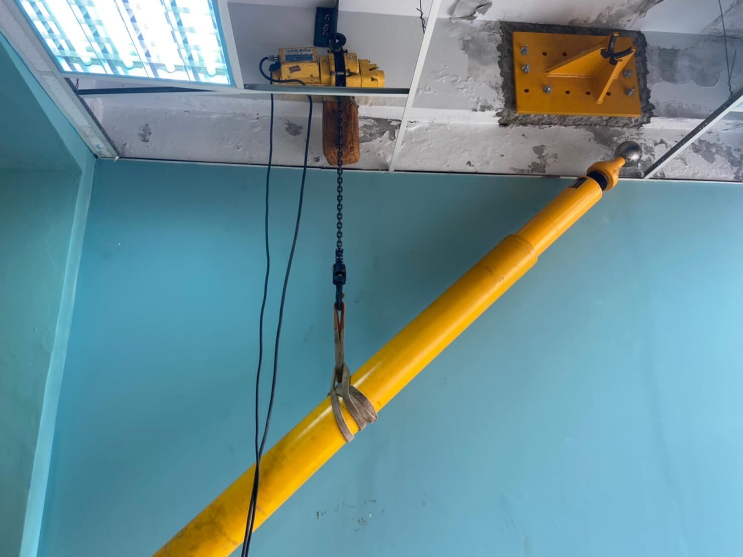 8.鋼構安裝、電焊、鑽孔植筋